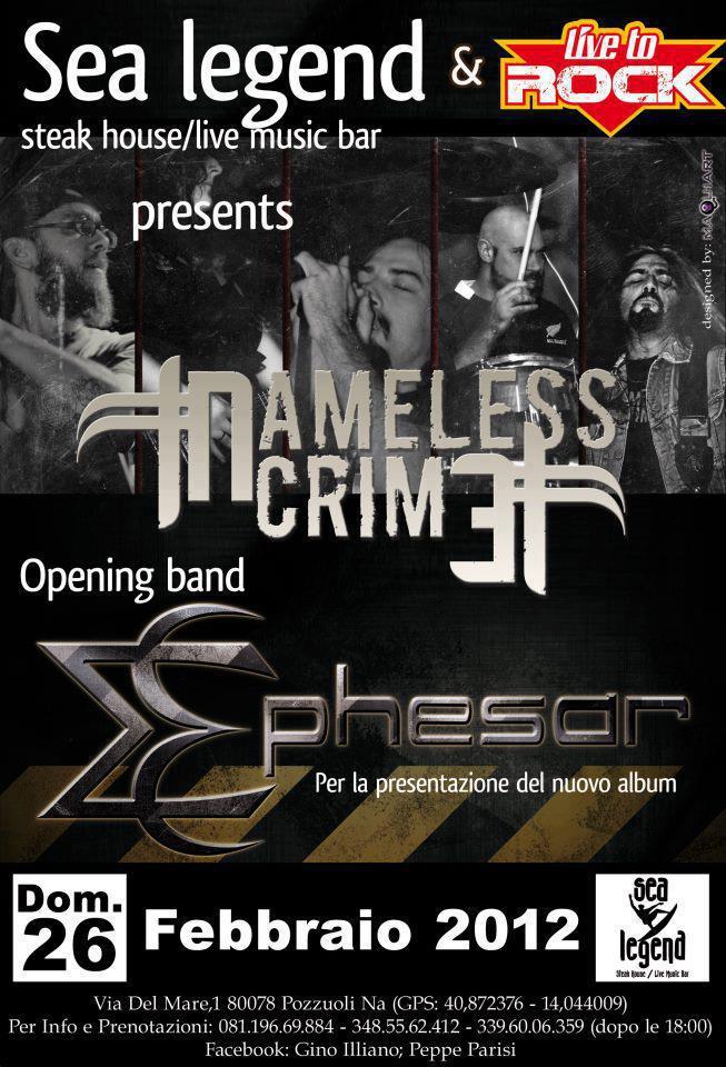 Namless Crime + Ephesar