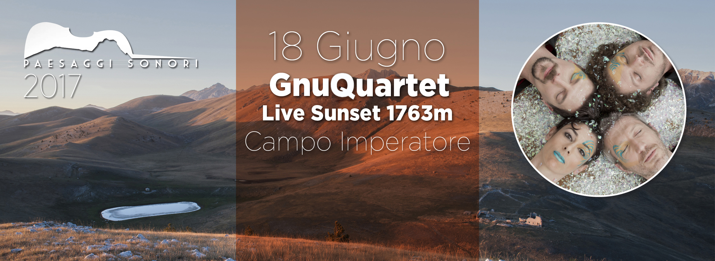 Copertina_GnuQuartet Live Sunset 1763m